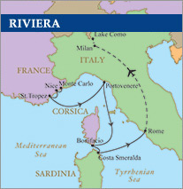 French Riviera Golf Cruise