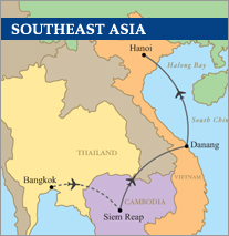 Southeast Asia Vietnam Golf Cruise