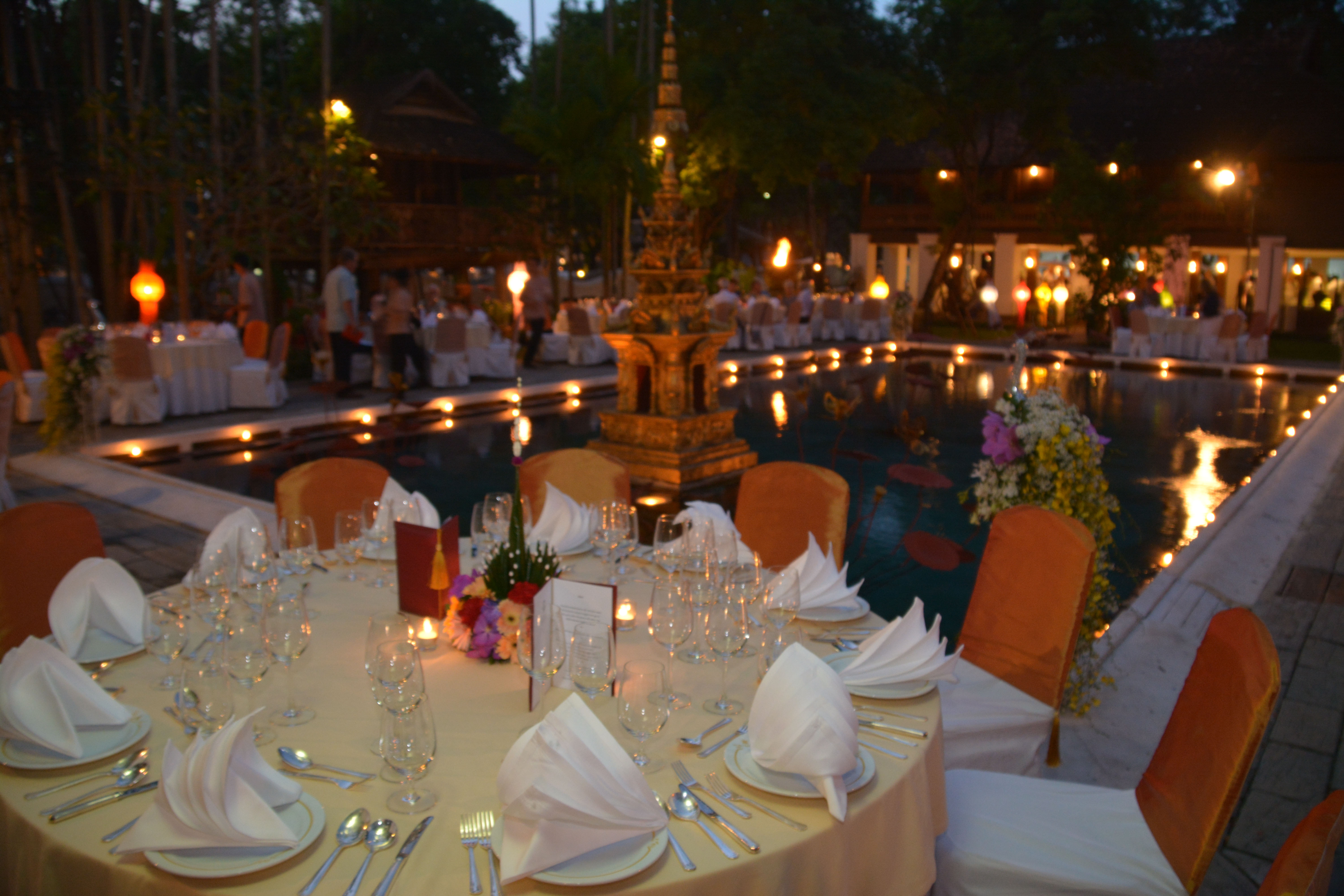 Welcome Dinner Table