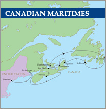 Canadian Maritimes Golf Cruise