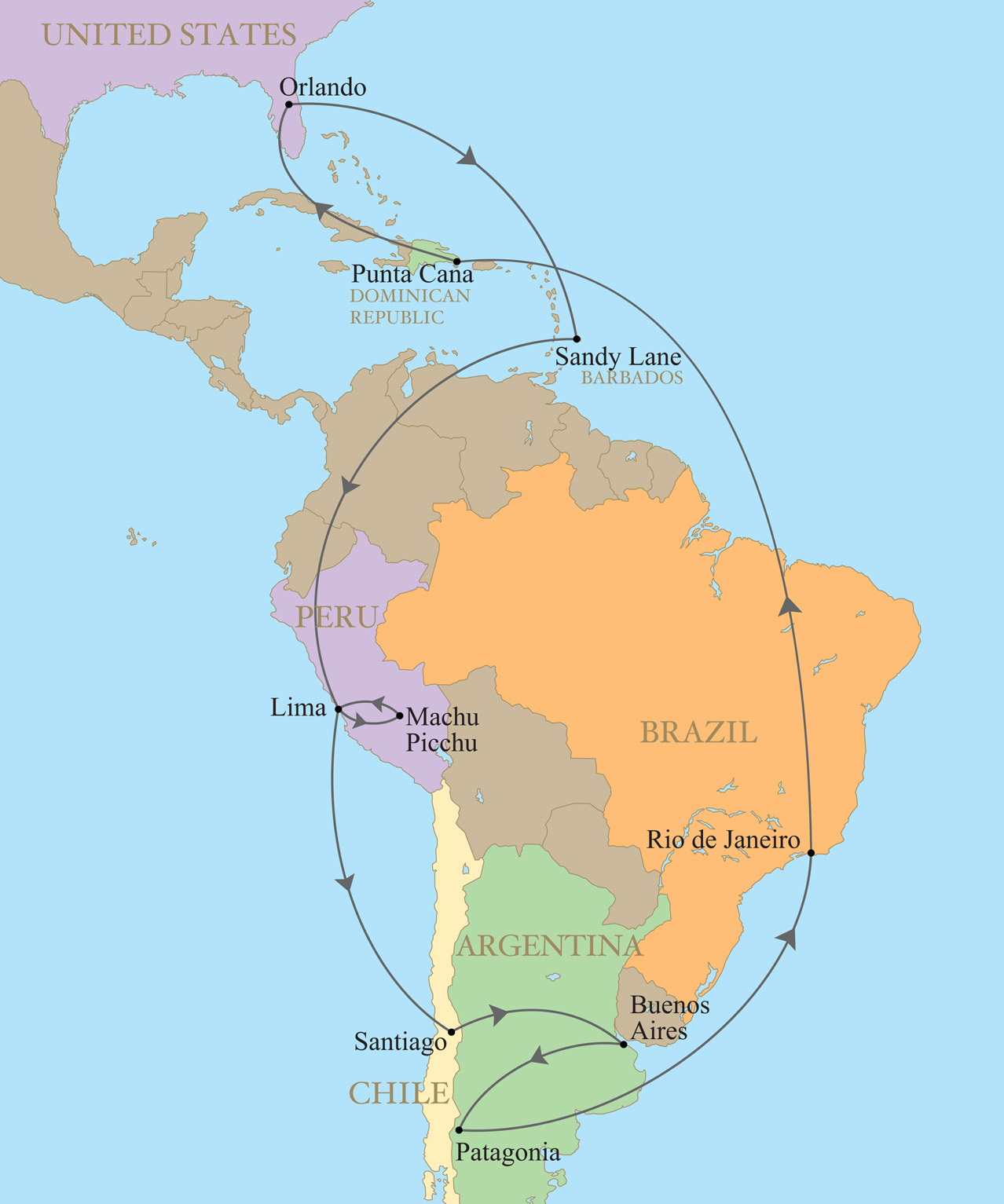 The Best of South America Golf Tour by Private Jet Kalos Golf