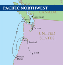 Pacific Northwest Golf Cruise